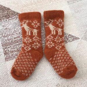 Winter wool socks